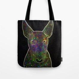 Cosmic bullterrier Tote Bag
