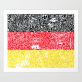 Made In Germany Art Print