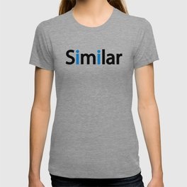Similar creative typography design T-shirt