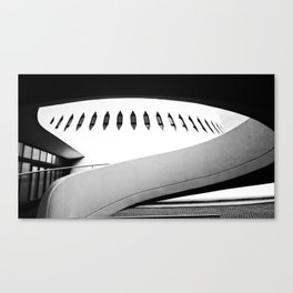 Le Havre | Niemeyer architect | Le Volcan Canvas Print