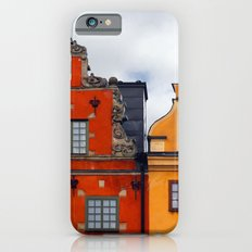 Stockholm. Colorful Houses in Gamla Stan iPhone 6s Slim Case