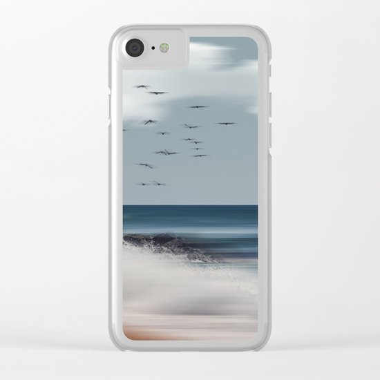Atlantic Water Clear iPhone Case