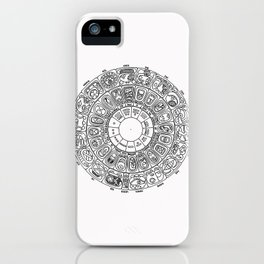 Mayan Calendar iPhone Case