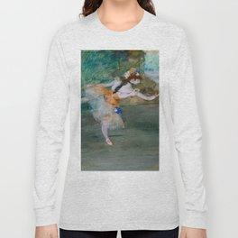 "Edgar Degas ""Dancer on stage"" Long Sleeve T-shirt"
