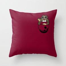 Pocket Dude (03) Throw Pillow