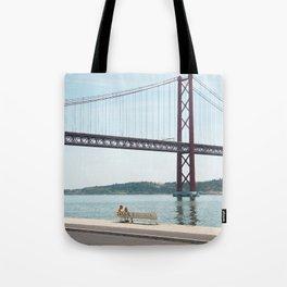 Jackie Lisbon Tote Bag
