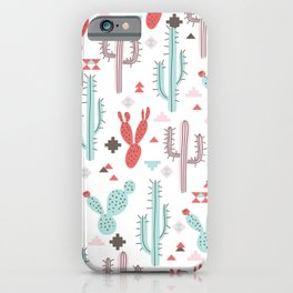 Boho tribal iPhone Case