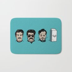 Mustache Club Bath Mat