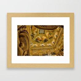 Opéra de Paris Framed Art Print
