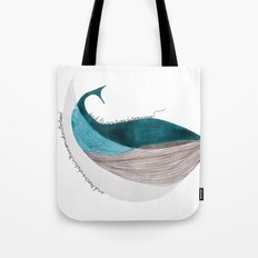 there´s a whale  Tote Bag