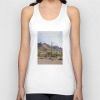 arizona Tank Tops featuring Arizona Cactus by Kevin Russ