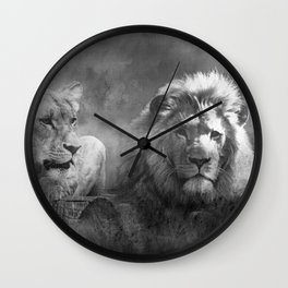 Lion's Pride Wall Clock