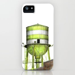 Montreal's Water Tower (Lachine Canal) iPhone Case
