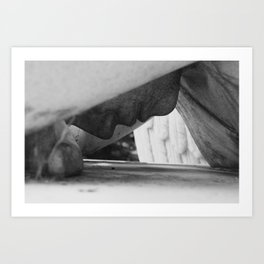 Cemetary6 Art Print