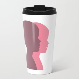 a Boy and a Girl Travel Mug
