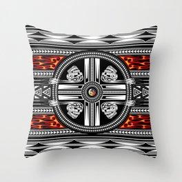 Fire Spirit Throw Pillow