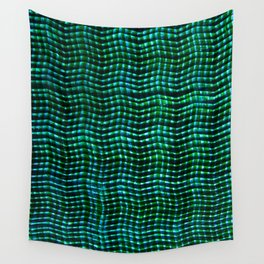 Screened Green Wall Tapestry