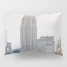 Empire State Building in grey Pillow Sham