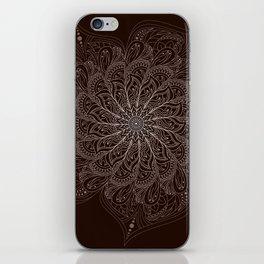 White Mandala iPhone Skin