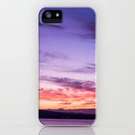 Auckland Sunset iPhone Case