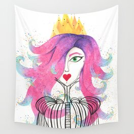 Princess Portrait Wall Tapestry