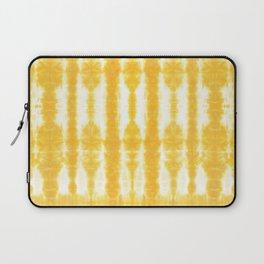 Yellow Tiki Shibori Laptop Sleeve