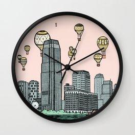 Jersey City Wall Clock