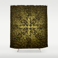 shells Shower Curtains featuring Shells by GLR67