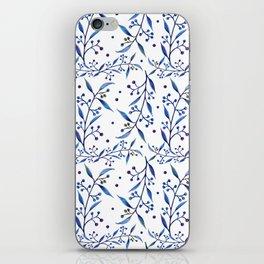 blueberries iPhone Skin