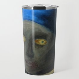 Zombie with the Pearl Earring Travel Mug
