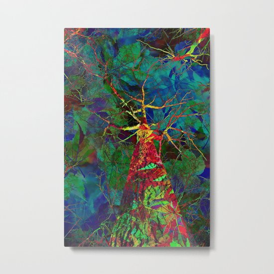 Autumn - The Most Colorful Season of All Metal Print