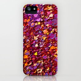 Straw Flowers in the Field iPhone Case