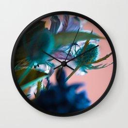Flowers/Amnesia Wall Clock