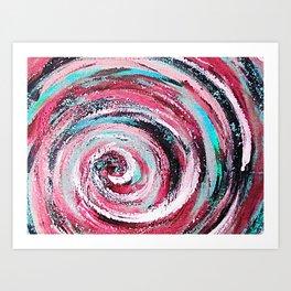Spiral honeymoon Art Print