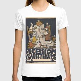"""Egon Schiele """"Secession 49. Exhibition"""" T-shirt"""