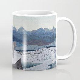 Wolfs Winter End Coffee Mug