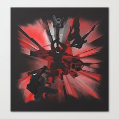Ninja Rocks Canvas Print