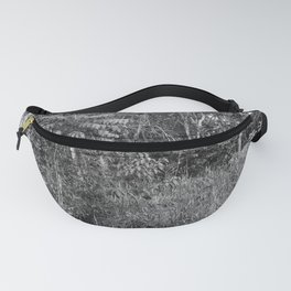 The Forest in Monochrome Fanny Pack