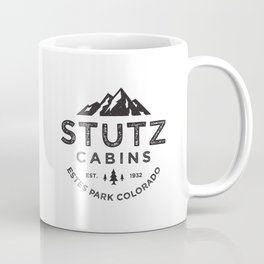 Stutz-Heimatfels Cabins Coffee Mug