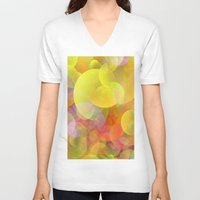 lightning V-neck T-shirts featuring Spring lightning by LoRo  Art & Pictures