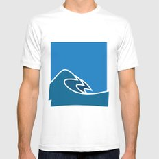 Surf Mens Fitted Tee MEDIUM White