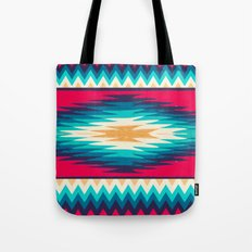 SURF GIRL CHEVRON Tote Bag