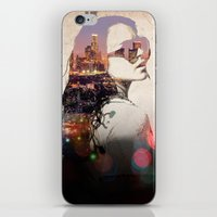 lindsay lohan iPhone & iPod Skins featuring LA - LOHAN by Tiaguh