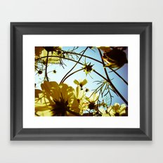 Once upon a day Framed Art Print