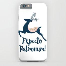 Expecto patronum! iPhone Case