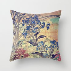 Slow Burning Throw Pillow