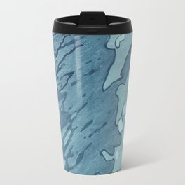 Aqua Shoreline Travel Mug