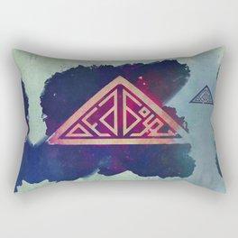 Ded Boyz Logo Painted Rectangular Pillow