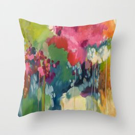 If You Are Going Through Hell, Keep Going Throw Pillow