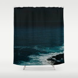 Space Planet Shower Curtain